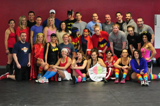 Can't wait to do it again! Our group after WOD 12. 5, 2012.