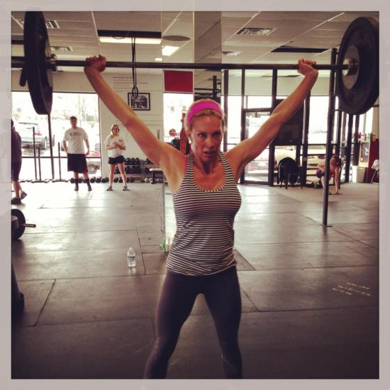 This girl is a burpee machine!!