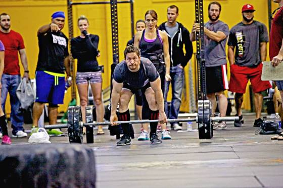 Jason and Christy 1st place winners at the SLC CrossFit Throw Down last Friday night.
