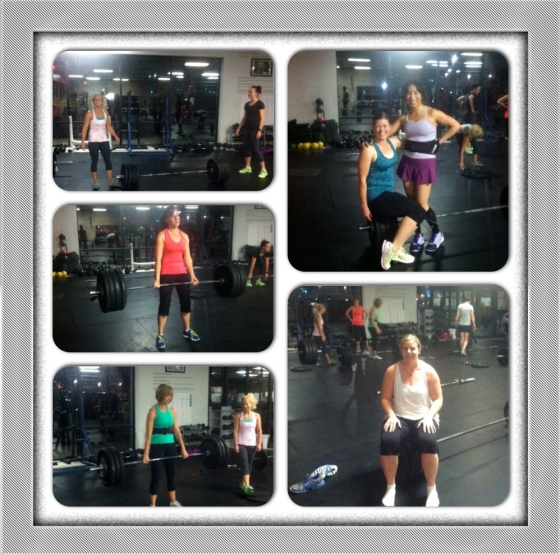 So many awesom PR's this today. 5:30am ladies came to work.... Holly 275, Jess 185, Cami 185, Mindy 200, Anna 200, Elsa 210, Kim  and so many more! Great work everyone.