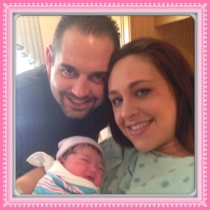 Congrats to Amanda and Tony. They welcomed a beautiful baby girl into this world Thursday Sept. 18th.. Kevlyne Patricia weighing in at 7lbs 10oz. We ar so happy for you guys!!
