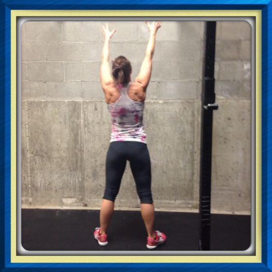 Amy H. showing  us what CrossFit and Lurong does for your backside.
