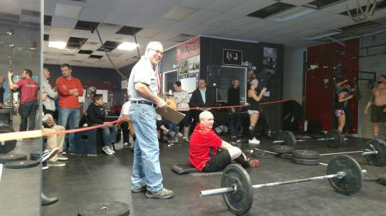 We love our CrossFit 22 patriarchs Ed and Lynn. Always inspiring.