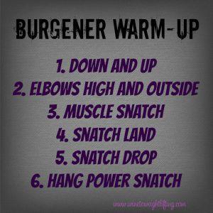 burgener-warmup