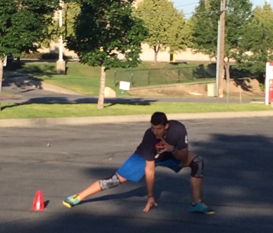 Dan: founder of the 3 point stance!  CF22 gatorade athlete of the year.